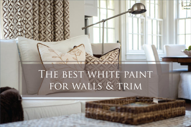best white paint color for walls and trim