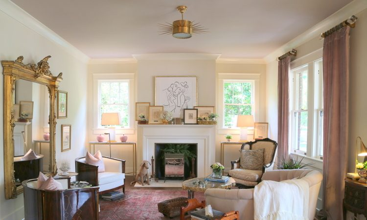 Albescent OC 40 Living Room. Benjamin Moore Paint Colors, Design By Dana  Goodman Interiors
