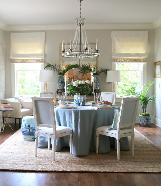 edgecomb gray dining room