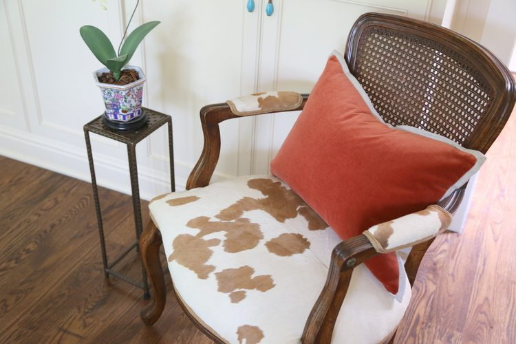 cowhide chair fabric