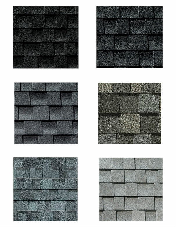 What paint colors work best with a gray roof the for Best roof color