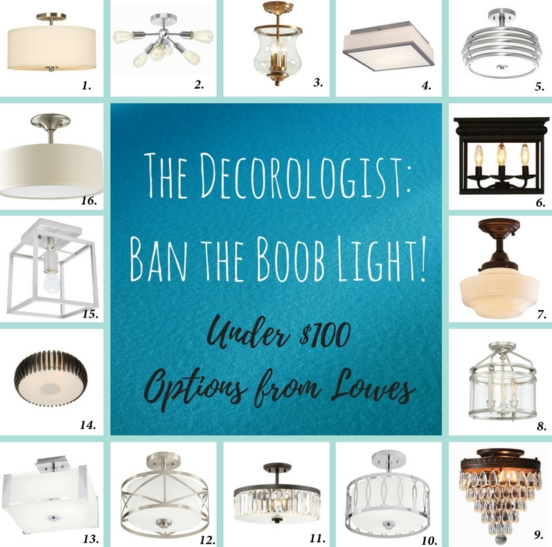 The Decorologist's Call to Ban the Boob Light!