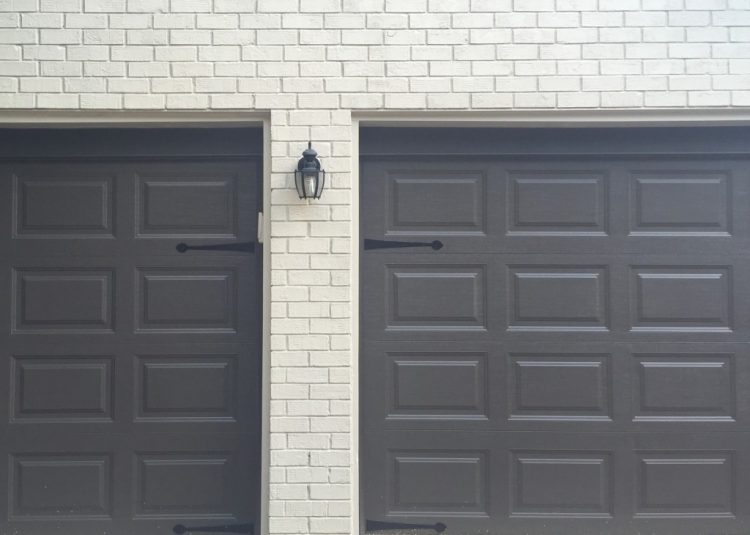 Painting Garage Doors Advice from The Decorologist The