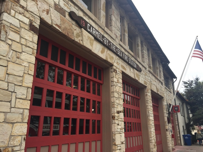 carmel red door fire station