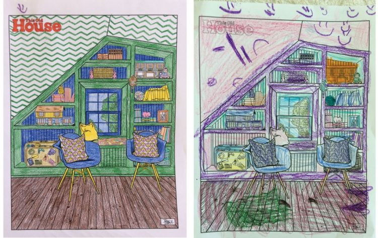contest winners this old house coloring pages