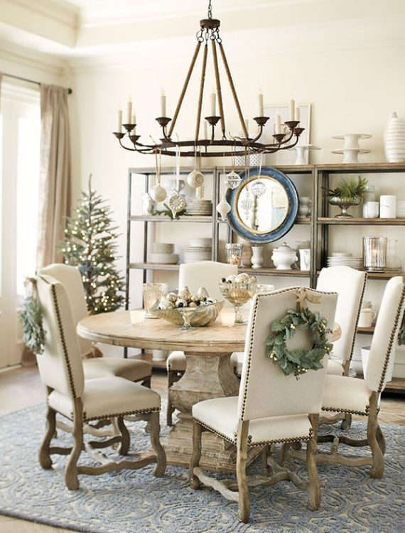 Why you may need a round dining table the decorologist for Ballard designs dining room