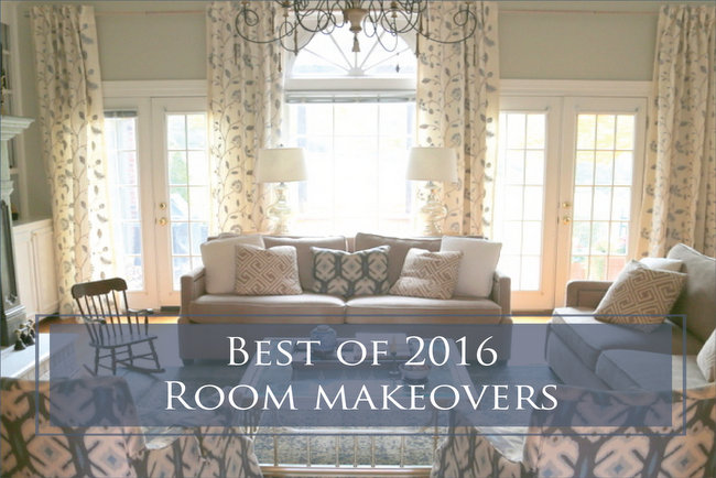 Best of 2016 Room Makeovers