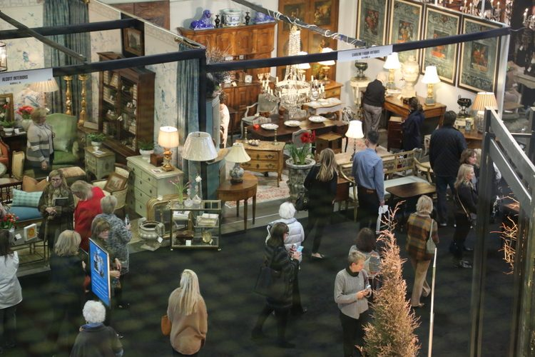 antiques and garden show