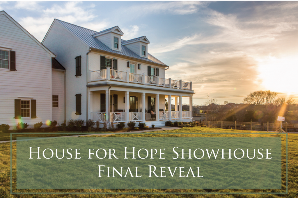The Final Reveal of Colors and Design at House for Hope Designer Showhouse