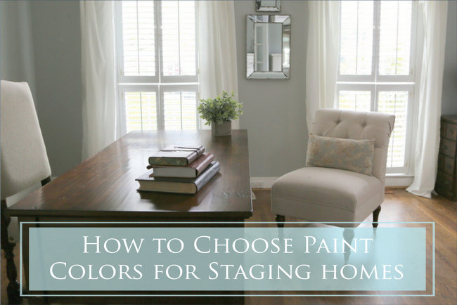 How To Choose Paint Colors for Staging Homes
