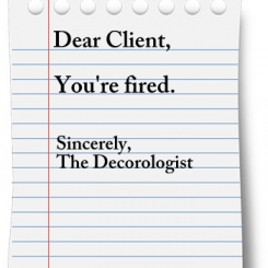 Dear Design Client: You're Fired