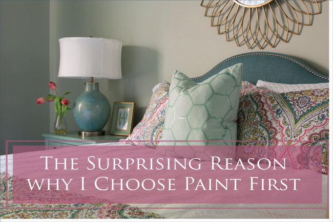 why i choose paint color first