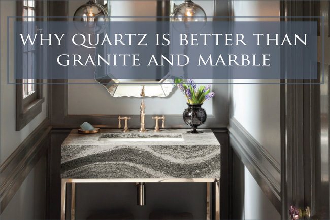 is quartz better than granite and marble