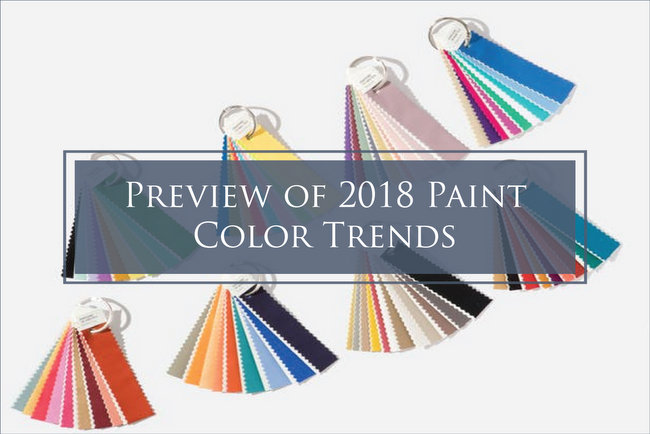 2018 popular paint color trends fandecks
