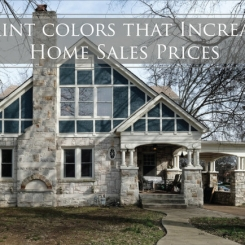 Study Confirms: Staging Colors Increase Home Sale Prices