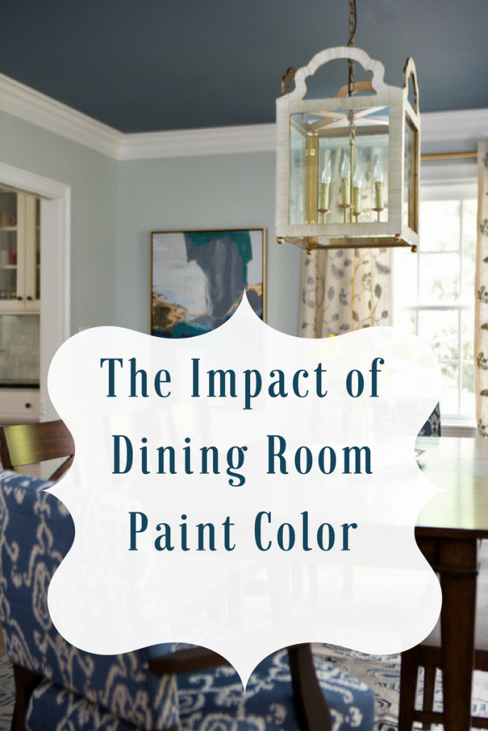 The Impact of Dining Room Paint Color