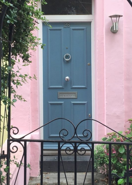 gray blue front door paint colors that look like Sherwin-Williams Turkish Tile SW7610