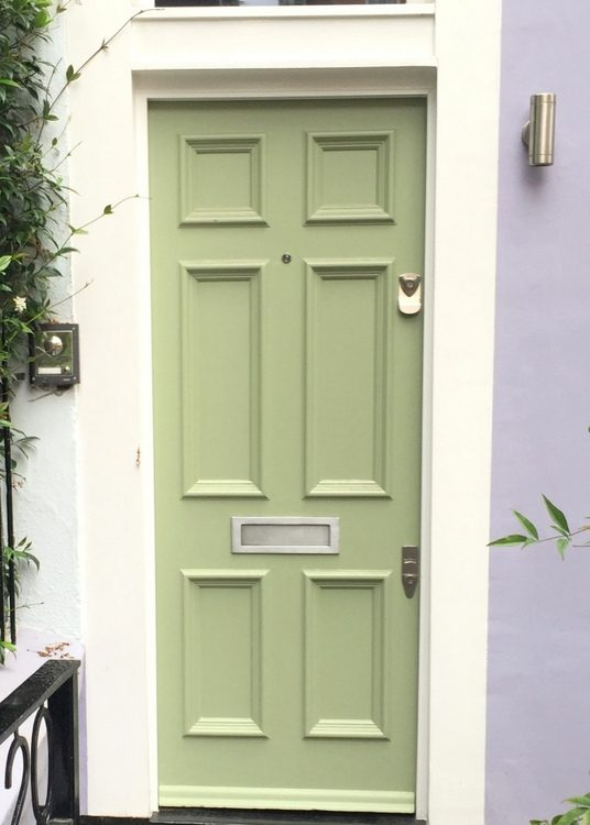 lime green front door paint color that looks like Sherwin-Williams Parakeet SW6711 & Sherwin Williams Front Door Paint Colors and the Important Secret ...