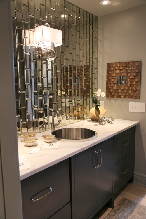mirrored subway tile kathy sandler