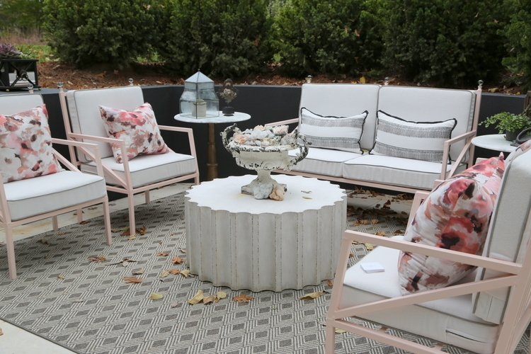 omore designer showhouse blush pink accents by red leaf interiors