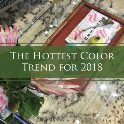 The Hottest Color You May Not Have Expected to See in 2018