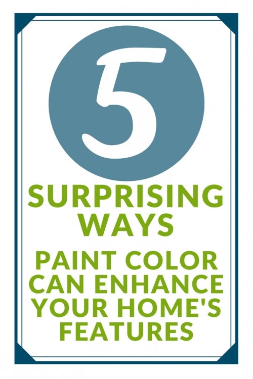 ways paint color can enhance your home