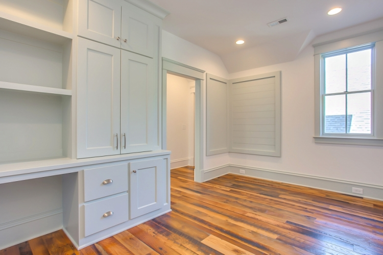 benjamin moore gray cashmere paint color on cabinetry bookcases