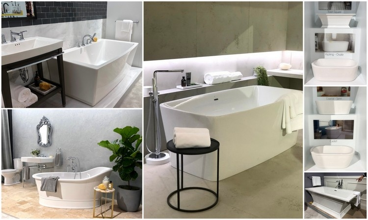 american standard and dxl standing tubs 2018 kitchen and bath trends