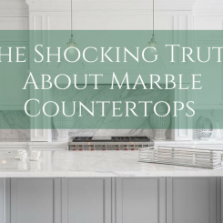 The Shocking Truth About Marble Countertops – They're Not As Scary As You Think