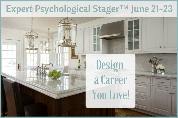 expert psychological stager course by Kristie Barnett, The Decorologist