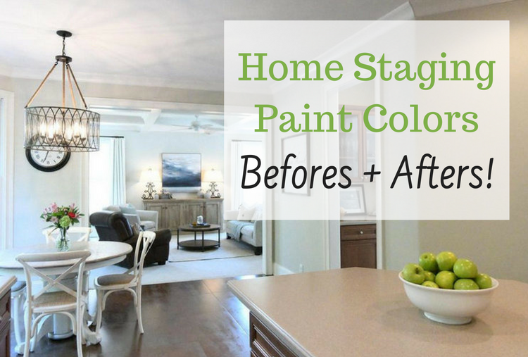 Home Staging Paint Colors – Befores & Afters