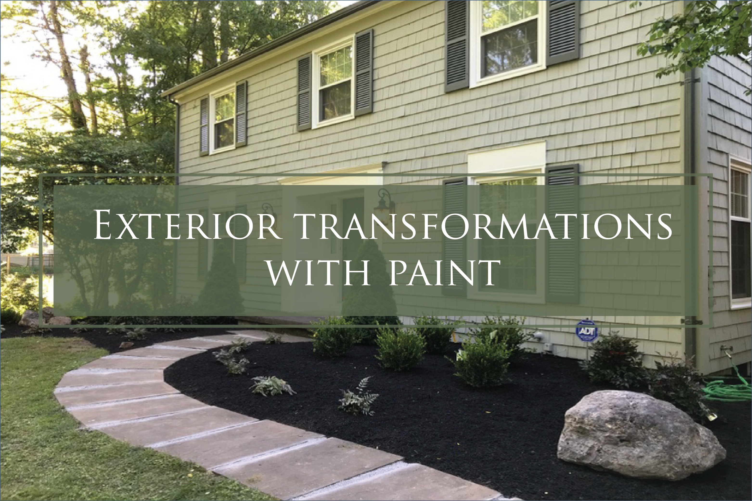 Exterior Transformations – Would You Like to Learn How to Do This?