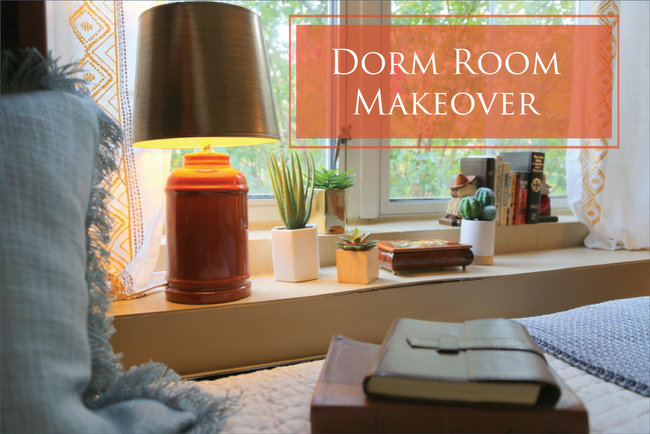 Dorm Room Makeover by Kristie Barnett, The Decorologist