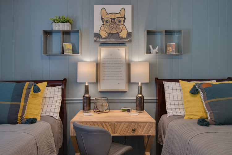 boys room design by Shelley McCoy Artful Homes and Stage South