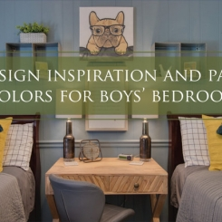 Design Inspiration and Paint Colors for Boys Bedrooms