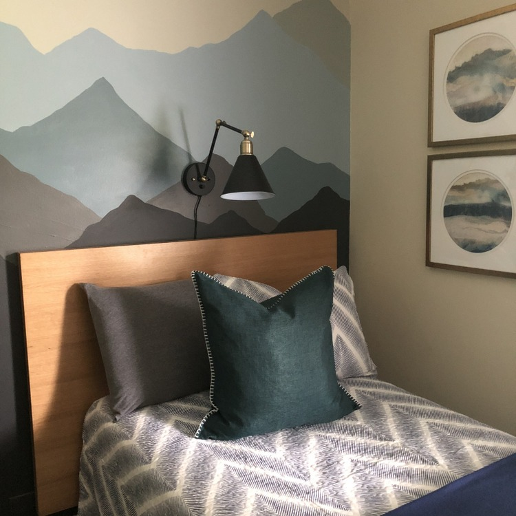 mountain themed room by The Decorologist