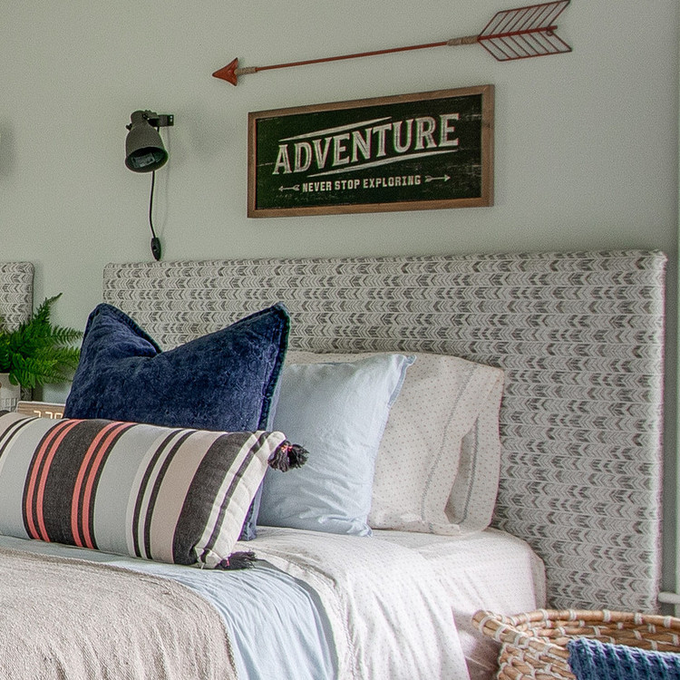 upholstered headboard