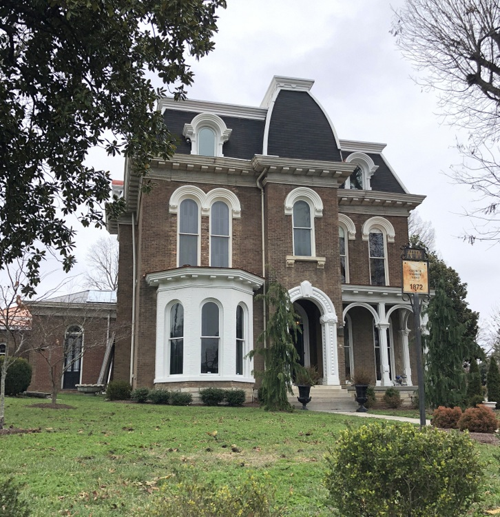 Italianate historic home