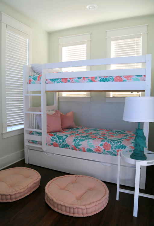 bunk room in vacation home
