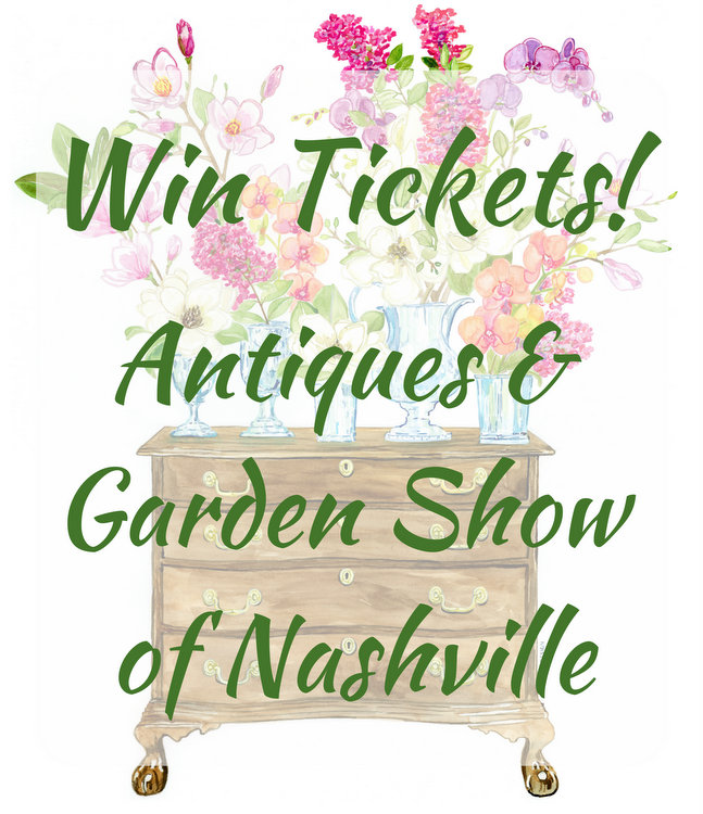 A Passion for Home – Ticket Giveaway for the Antiques and Garden Show of Nashville!