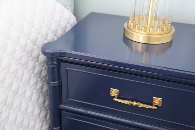 furniture painted sherwin williams color of the year naval