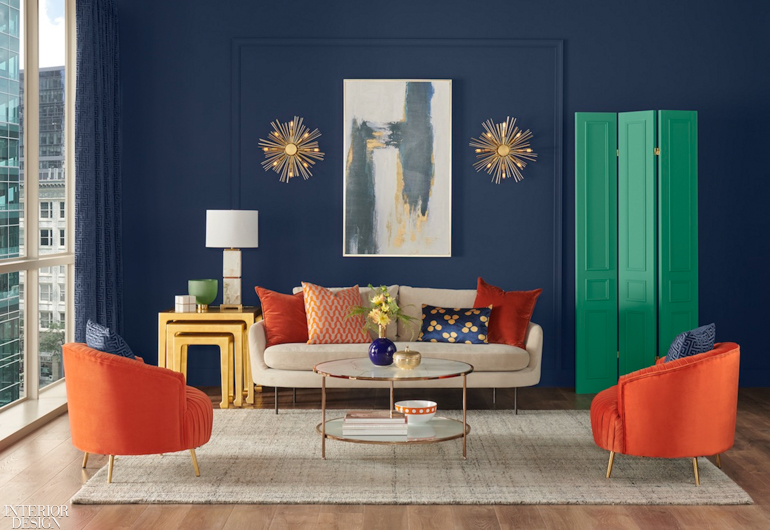 How to Use Sherwin Williams 2020 Color of the Year NAVAL