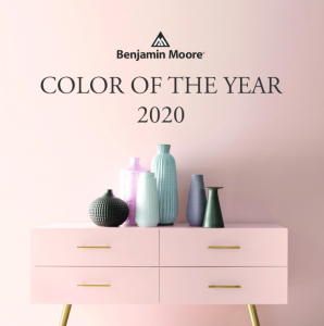 benjamin moore color of the year first light