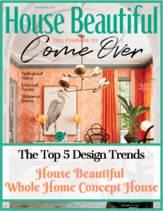 house beautiful design trends