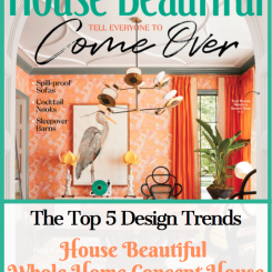 Top 5 Design Trends – House Beautiful Whole Home Concept House