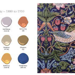 The History of Paint Color in Benjamin Moore Palettes