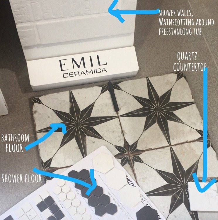 star encaustic floor tile and brick wall tile