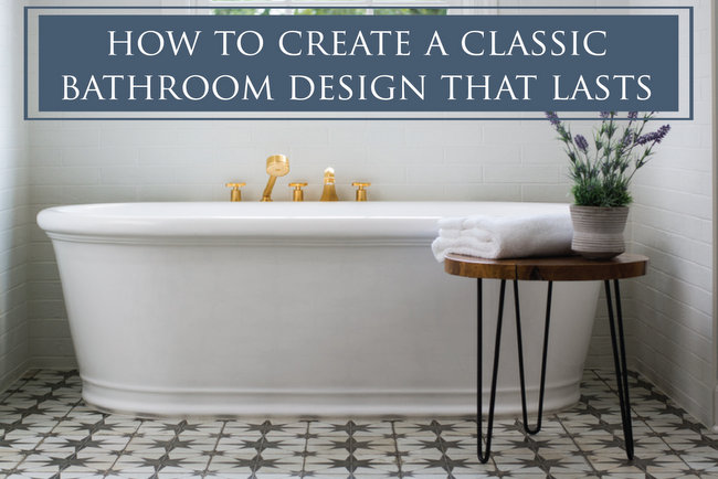 classic bathroom design by The Decorologist