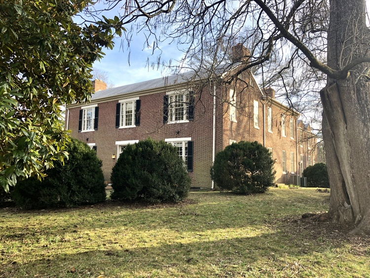 May-Granbery Manor Nashville federal style brick historic home