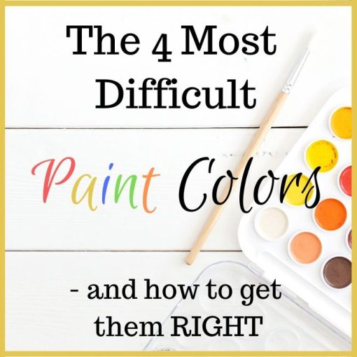 how to get paint colors right